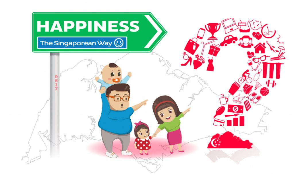 Happiness, the Singaporean way?