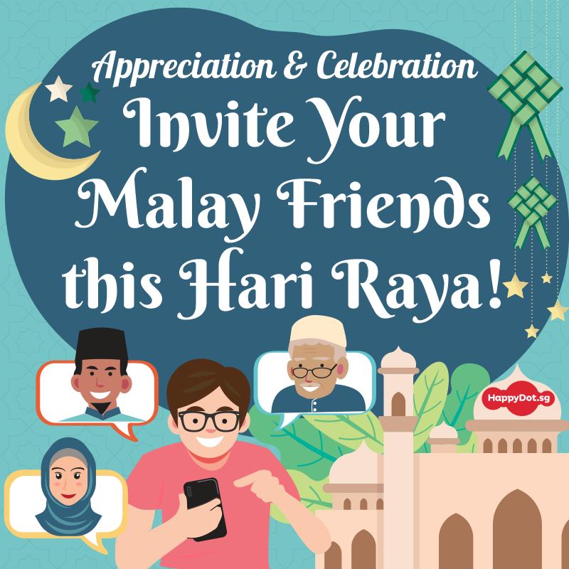 invite your malay friends this hari raya
