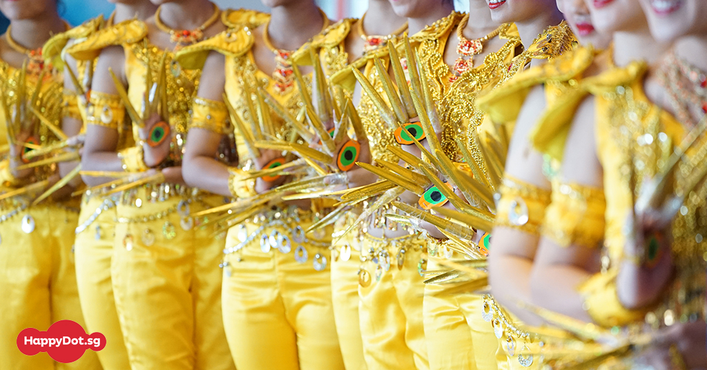 Multiracial Cultural Dance